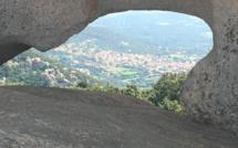La photo du jour : Le village de Monacia vu depuis Grossetu