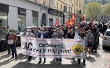 Cherté des carburants en Corse : une timide mobilisation ce samedi à Bastia