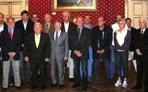 Les 13 délégations des « Jeux des Iles » reçus à la Mairie d'Ajaccio