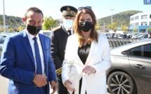 EN IMAGES - Retour sur le premier jour de visite de Marlène Schiappa en Corse
