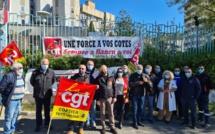 """""""Nous voulons juste vivre dignement"""" : la CGT mobilisée à Bastia pour dénoncer la précarité dans la fonction publique"""