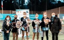 Lina Gjorcheska (MKD) - Amandine Hesse (FRA) remportent le double du Ladies Open Calvi - Eaux de Zilia