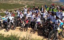 Les collégiens de Calvi à l'heure du Tour de France cycliste