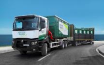 Le camion de la la recyclerie mobile