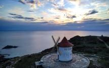 La photo du jour : à la pointe du Cap Corse, le moulin Mattei