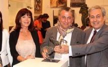 Vernissage à Calvi de la 18ème Rencontre d'art contemporain