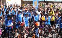 Sprint final pour la fête du Tour à Calvi