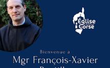 Mgr François-Xavier Bustillo, nouvel évêque d'Ajaccio pour la Corse