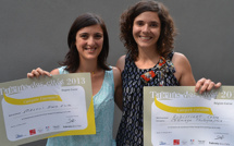 """Maria-Erica Meloni et Céline Robilliart """"Talents des Cités"""" de Corse"""