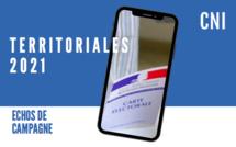 Territoriales : Echos de campagne du 28 mai 2021