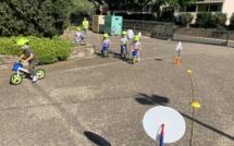 Opération sécurité routière pour les tout-petits à Borgo