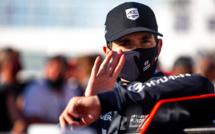 Auto WRC rallye de Sardaigne  : Pierre-Louis Loubet n'est pas reparti