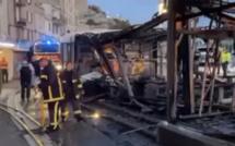 Bonifacio : un établissement du port ravagé par un incendie