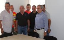 Calvi : Visite des nouveaux vestiaires du stade Faustin-Bartoli