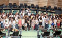 Distribution de prix au conseil général de Haute-Corse