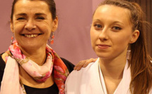 Alexandra Feracci championne d'Europe universitaire de karaté