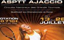 Open Géant de l'ASPTT Ajaccio : Les résultats