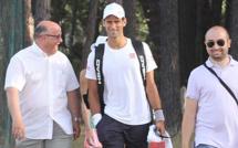 Novak Djokovic fait sensation au Tennis Club de Calvi