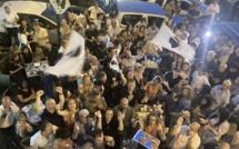 Territoriales :  Ambiance relativement calme à Ajaccio après la proclamation des résultats
