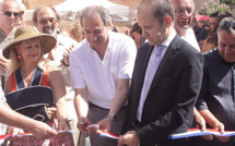 Inaugurazione in Aregnu di  a XVIIè Fiera di l'Amandulu