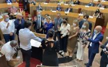 Revivez la séance d'installation de l'Assemblée de Corse