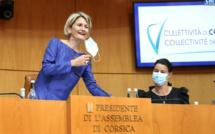 Marie Antoinette Maupertuis est la nouvelle présidente de l'Assemblée de Corse