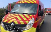 Bocognano : collision entre deux motos, un blessé grave