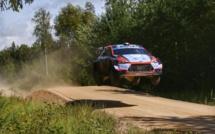Auto WRC :Pilouis Loubet 10e du Shakedown en Estonie