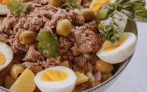 A table : salade de pomme de terre avec la petite cuisine de Marie