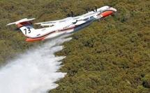 """Mardi """"rouge"""" en Haute-Corse : Plus de 100 ha ravagés et 4 pompiers blessés"""