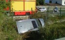 Ajaccio : 3 blessés et un énorme bouchon après un accident à Baleone