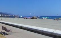 Bastia : la baignade de nouveau autorisée à la plage de l'Arinella