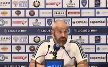 """VIDEO - Mathieu Chabert (SC Bastia) : """"la déception"""""""