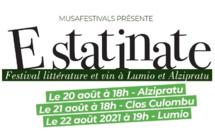 E Statinate : un weekend de littérature dans les vignes de Balagne