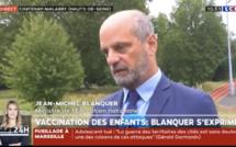 La vaccination contre le Covid-19 des moins de 12 ans n'est pas d'actualité, assure Jean-Michel Blanquer