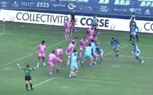 Rugby au stade Armand-Cesari - Le Stade Français renverse Montpellier