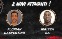 Football : Deux nouveaux attaquants pour le FC Bastia-Borgo