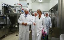"""La ministre du Commerce Extérieur chez """"Corsica Gastronomia"""""""