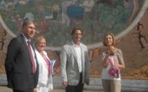 La visite de la ministre du Commerce Extérieur au Domaine Peraldi