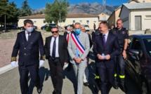 Le ministre Olivier Dussopt en Corse pour mesurer la mise en œuvre du Plan France Relance