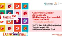 A Bastia une semaine de conférences sur les pas de Dante Alighieri