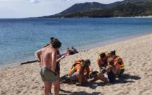 Plage de Campitello : Recherchée en mer et retrouvée saine et sauve