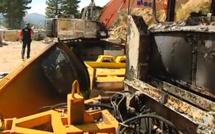 Evisa : Nouvel incendie criminel contre l'entreprise de BTP Aïtone