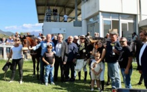 """Hippodrome de Vignetta : le Grand Prix de la Ville d'Ajaccio à Laurent Doreau et à son cheval """"Wonder Chop"""""""