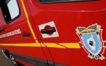 Ajaccio : un motard chute au rond-point d'Aspretto, la circulation perturbée