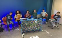 Les élèves de l'école Amadei de Bastia créent un MOOC sur le climat
