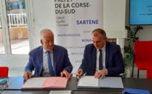 La ComCom du Sud-Corse signe son contrat de relance et de transition écologique