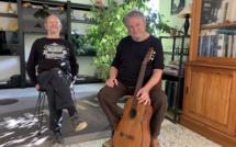 Philippe Forcioli, chante et déclame Brassens dans toute la Corse