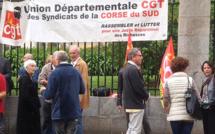 L'UD CGT de Corse-du-Sud dans la rue pour dénoncer la réforme des retraites