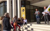 Haute-Corse : les accompagnants d'élèves en situation de handicap à nouveau dans la rue